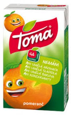 Toma juice mandarinka 250ml